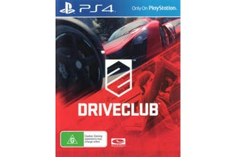 Driveclub PS4 Playstation 4 Pre-owned Game: Disc Like New