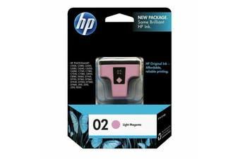 HP 02 L-MAGENTA INK CART - NEW - GENUINE