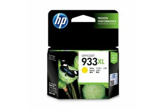 HP 933XL YELLOW INK CARTRIDGE - NEW - GENUINE
