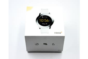 FOSSIL Q Founder Gen 2 Touchscreen White Band FTW2115 - Watch Aus Stock Pre-Owned: Excellent Condition