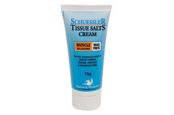 Schuessler Tissue Salts 75gm cream - Mag Phos Natural Cream