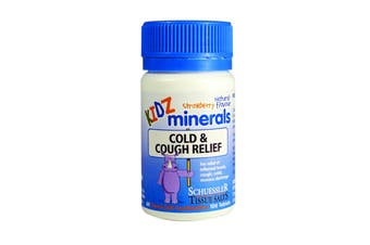 Cold & Cough Relief - KIDZ Minerals - Natural Children's Health, Schuessler