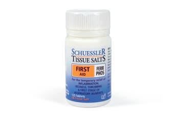 Schuessler Tissue Salts 125 Tablets - Ferr Phos 6X - Natural Health Minerals