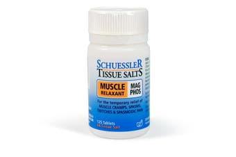 Schuessler Tissue Salts 125 Tablets - Mag Phos 6X - Natural Health Minerals