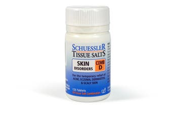 Schuessler Tissue Salts 125 Tablets - Comb D - Natural Health Minerals