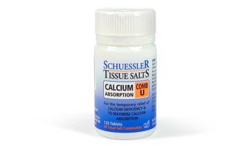 Schuessler Tissue Salts 125 Tablets - Comb U - Natural Health Minerals