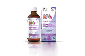 Ki Kids Cough & Cold Liquid 100ml - Traditional Chinese Medicine