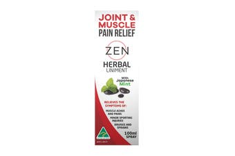 ZEN Liniment 100ML Spray - Joint and Muscle Support, Traditional Remedy
