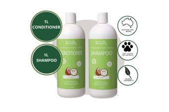 Biologika Organic Coconut Shampoo/Conditioner Bundle Pack - 1L - All Hair Types