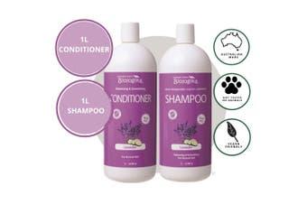 Biologika Organic Lavender Shampoo/Conditioner Bundle Pack - 1L - Normal Hair