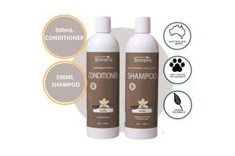 Biologika Organic Vanilla Shampoo/Conditioner Bundle Pack 500ML - All Hair Types