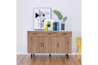 Oak Buffet Sideboard Unit Hallway Entrance Storage Cabinet Storage Cupboard