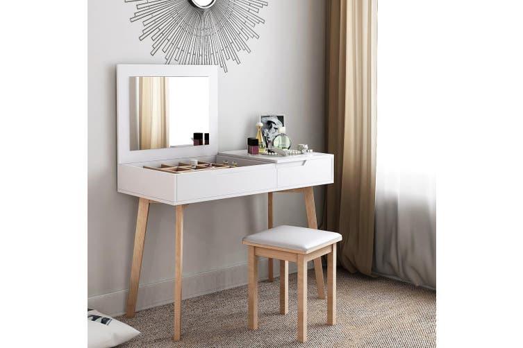 Modern Dresser Table Chair Set Folding