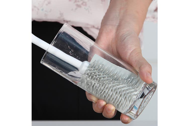 Boomjoy Q3 Cup Cleaning Brush Kitchen Bottle Double Sided Cleaner Cleaning Tool