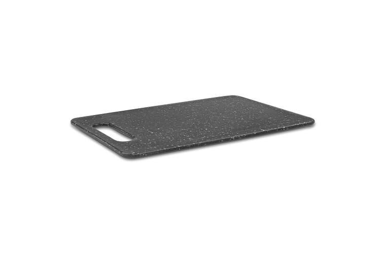 HOLSTEIN Plastic Cutting Chopping Board Marble Look 30x20x0.6cm Chopboard