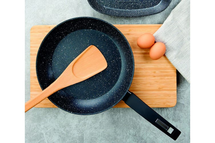 Marburg Non Stick Marble Stone Coating 24cm Frying Pan Frypan Cookware Induction