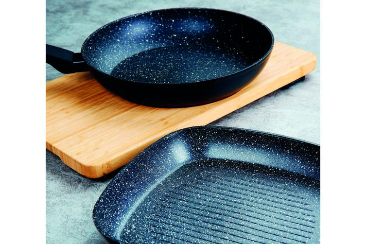 Marburg Non Stick Marble Stone Coating 28cm Frying Pan Frypan Cookware Induction