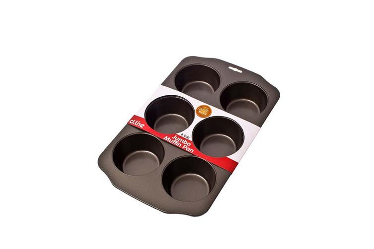 Daily Bake Jumbo Muffin Pan 6 Cup Nonstick Cupcake Cake Tray Mold Mould Bakeware