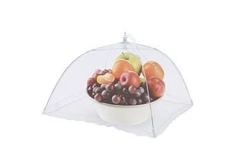 Appetito Jumbo Nylon Net Mesh Food Cover Picnic Table Tent 61 x 91cm White