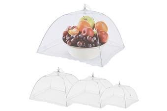Appetito 3pcs Nylon Net Mesh Food Cover Picnic Table TentWhite