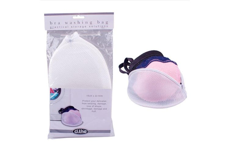 Dline Bra Washing Laundry Bag Zip Lingerie Wash Bag