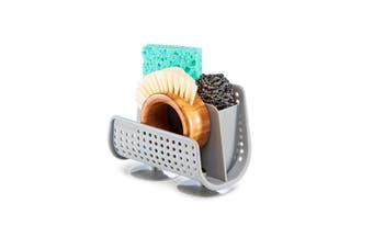 Madesmart Sink Caddy Grey Kitchen Sponge Tools Storage Sink Holder Rack Organize