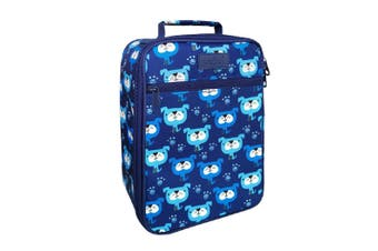 Sachi Insulated Lunch Box Tote Thermal Cooler Bag Picnic Case Blue Heeler