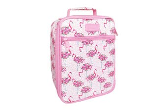 Sachi Insulated Lunch Box Tote Thermal Cooler Bag Picnic Case Flamingos