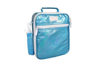 Sachi Insulated Junior Lunch Tote Thermal Carry Storage Bag Lustre Turquoise