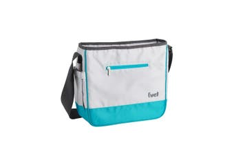 Trudeau Tote Bag with Compartment Tropical Blue