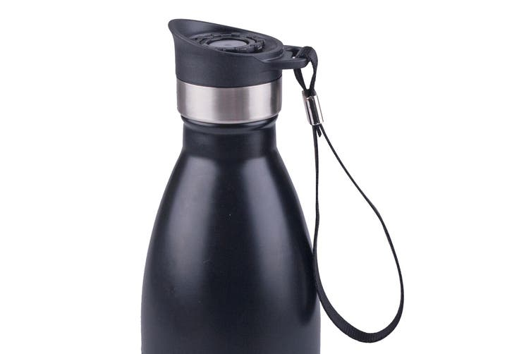 Oasis Drinking Bottle Pour Through Stopper W/ Carry Strap 350ml & 500ml