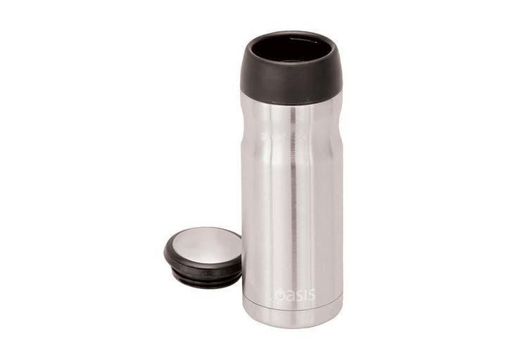Oasis Stainless Steel Vacuum Insulated Travel Mug 414ml