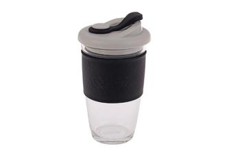 Oasis Borosilicate Glass Eco Cup Black 16oz 454ml