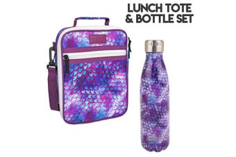 Dragon Scale Lunch Bag and Oasis Bottle