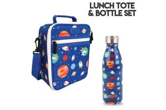 Outer Space Lunch Bag and Oasis Bottle Set