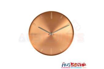 Karlsson Belt Wall Clock 40cm  Metal Copper