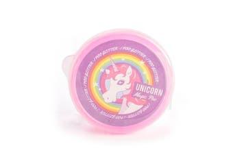 Magic Unicorn Poo Novelty Glitter Gift Filler Pink Kids Putty Girls