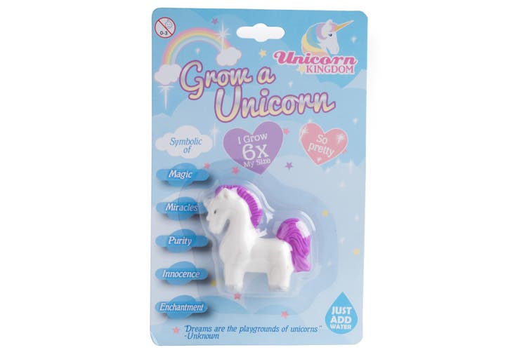 Grow A Unicorn Novelty Gift Fairy 6x Larger