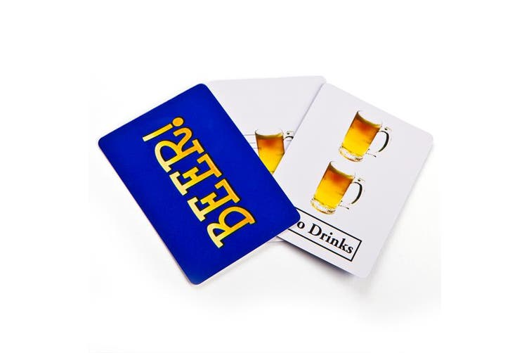 Beer Drinking Card Game Novelty Party Hens Bucks Night