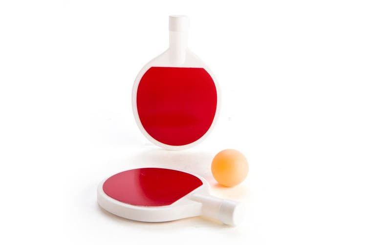 Ping Pong Flask Set Alcohol Drinking Bar Party Kitchen Gift Novelty Tennis