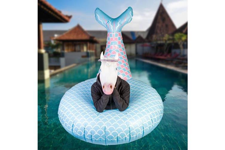 Giant Mermaid Tail Pool Float  Gigantic Swimming Inflatable Floatie