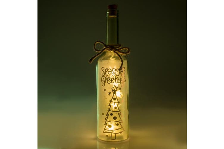 Wishlight Bottle Night Light Nursery Room Decoration Led Cute Pretty Gift