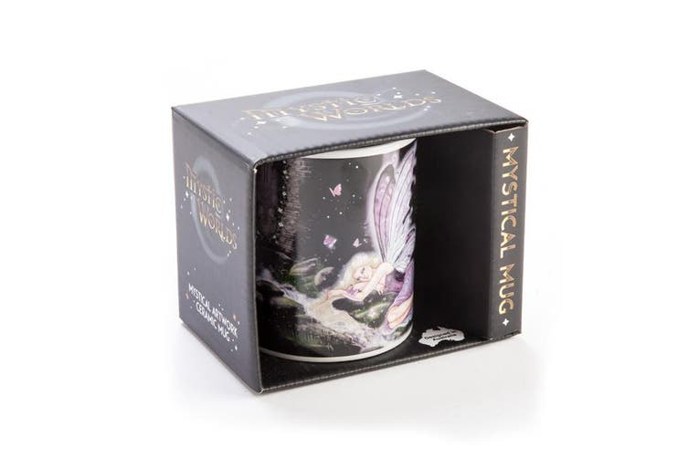 Coffee Ceramic Mug Novelty Tea Cup Mystical Mug  Fairy