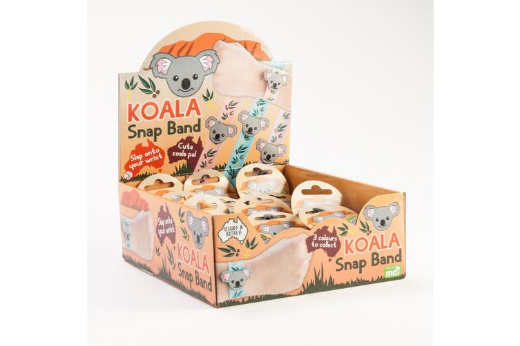 3pcs Koala Snap Band Slap Animal Koala Face