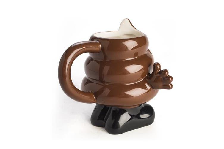 Cool Koolface Mug Coffee Tea Cups Gift Emoji Smiling Poo Face