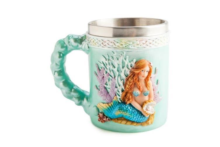 Mermaid Mug Coffee Novelty Tea Cup Mystical Mug 3D