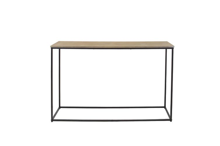 Console Table Industrial Hallway Entrance Entry Display Side Desk Stand Rustic