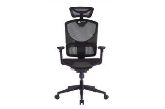 GTCHAIR GTC-GR-SE-13N Vida Ergonomic Gaming/Office Chair - Black