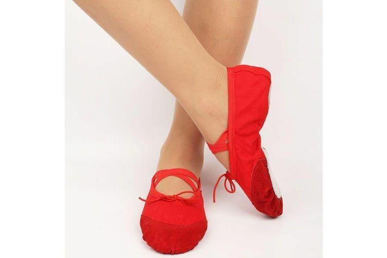 Capezio Ladies Split Sole Canvas Ballet Shoe 2030 Light