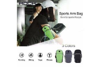 Rock Unisex Sports Running Jogging Gym Running Armband Sport Arm Bags RST1006 Green -